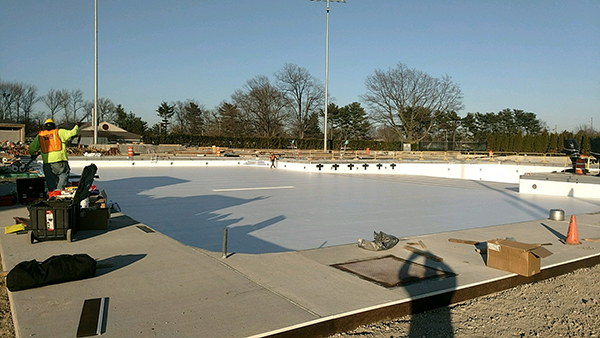 Joined Pools in New York Park Ready for Years of Use With Installation of Ultimate Pool Surface's 60-MIL Liner